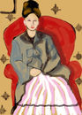 madame-cezanne-in-red-